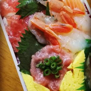 暑いのでご飯購入~ちらし寿司~楽なのがいいよ