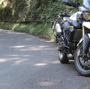 実践 バイクのパンク修理 TIGER800