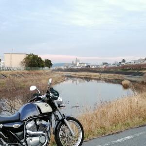 河津桜はまだ早かった....SRV250