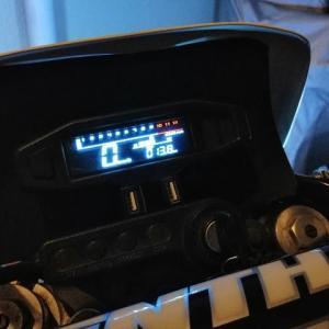 中華製の格安メータをバイクに搭載 XR250