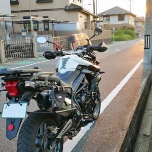 夏休みの自由研究②(ハザードスイッチ) Tiger800