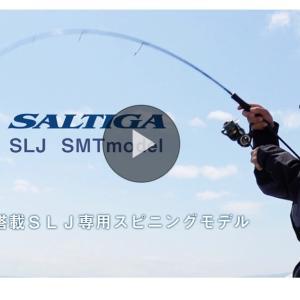 新作ロッドSALTIGA SLJ 64MLS-SMT を注文