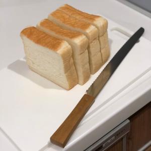 凄い!!パン切り包丁の威力!