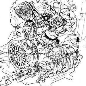 雑に回る673cc V - Twin