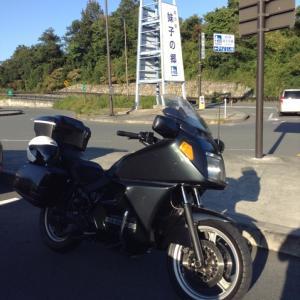 初めて見る琵琶湖大橋の大渋滞