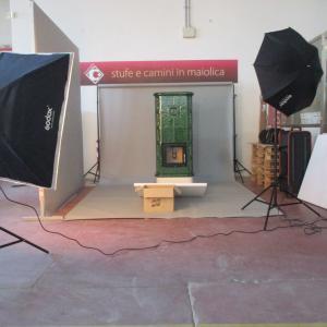 マヨリカ焼の素敵なリトル暖炉、ラスタベッタ誕生☆