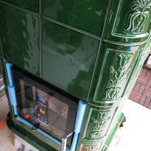 福岡県新宮町で新世代暖炉・バイオマス蓄熱暖炉設置工事開始