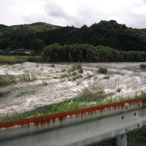 九州豪雨、河川の氾濫2