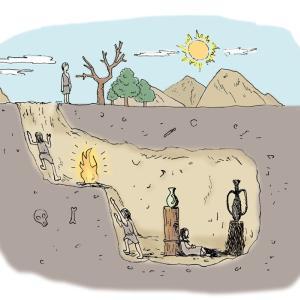 コロナと洞窟の比喩