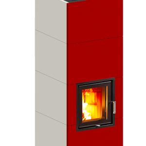 夏ですが冬向けの準備、バイオマス蓄熱暖炉Sintesi MAXIを八女市に導入打ち合わせ