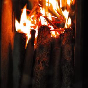 魂を喜ばせると元気になる #炎を見ると魂が喜ぶ