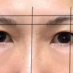 左右非対称の眉毛!整え方と描き方「黄金比」・普通の主婦がやってみた結果