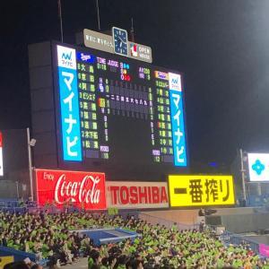 2020/10/24 神宮球場
