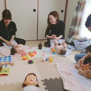 【開催】おうち教室♡来月もまた参加したいです!!~ベビーマッサージ広島市安佐南区