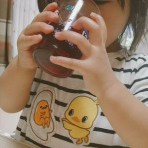 【プライベート】おばあちゃんの思い出の味!手作りしそジュース♡