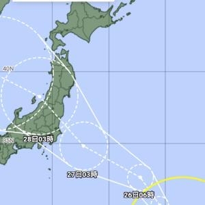 台風8号のニュースのコメント