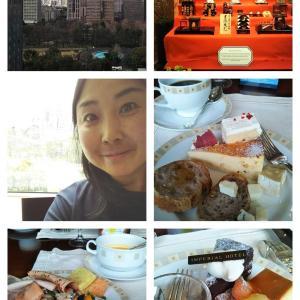 帝国ホテルのランチブッフェに行きました♪