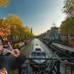 おはよう☆気持ちだけアムステルダム!
