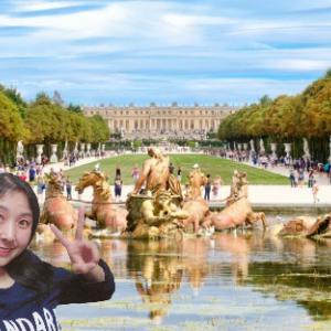 おはよう☆気持ちだけヴェルサイユ宮殿!