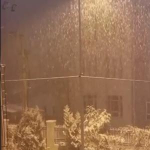 ソウル 初雪