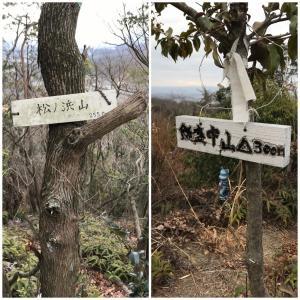 飯盛中山・松ノ浜山