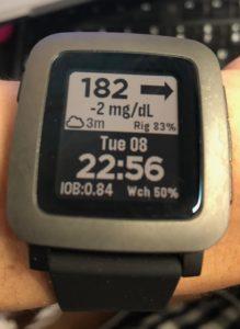時刻を見るように、血糖値を見る話。