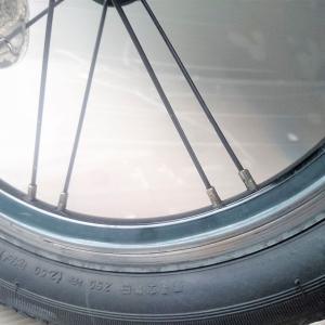 自転車のホイールを組み直してみた