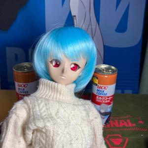 怒涛のエヴァUCC缶コーヒー祭りだぁ!もちろんレイちゃん