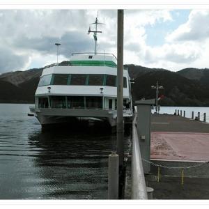 芦ノ湖は定期船もよいぞ