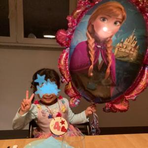 娘4歳のお祝い