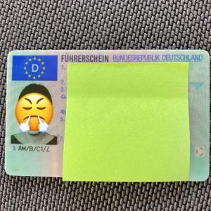 免許証、紛失、、、