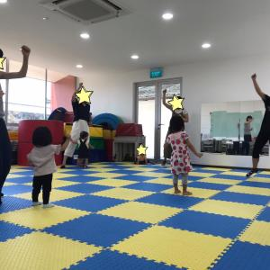 SAKURAレッスン「親子ダンス」の様子