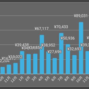 【3月】ソーシャル&クラウドファンディング収益報告