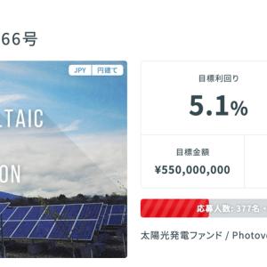 【ペロリ】久々に太陽光へ投資