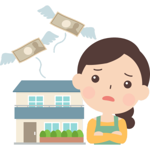 生活を圧迫している住宅ローンに後悔