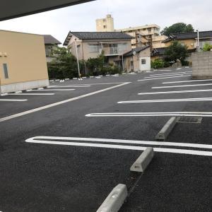 広~~い駐車場が完成しました