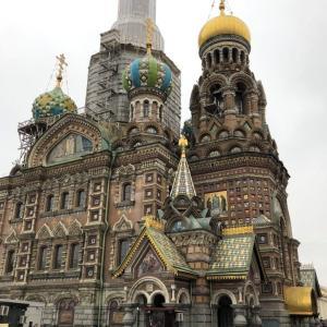 帝政ロシアの世界がここに!サンクト街歩き
