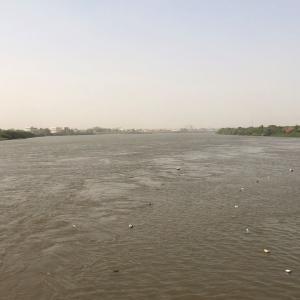 スーダンの淀川!?ナイル川の合流点へ
