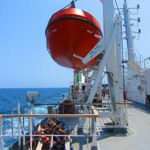 「もう1つの海」を渡りバクーへ!長い長い船旅