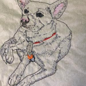 刺繍のウラ側…何のための試し縫い?生地と芯地の関係