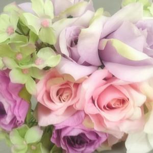 穏やかに、でも、効果大、お花と笑顔☆