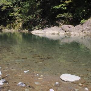 川で水着で遊んで来ました