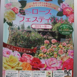 花菜ガーデンの「ローズフェスティバル 2019 ~秋~」へ行って来ました (その1)