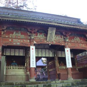 北口本宮冨士浅間神社の参拝と紅葉を観に
