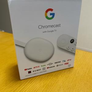 chromecast買いました