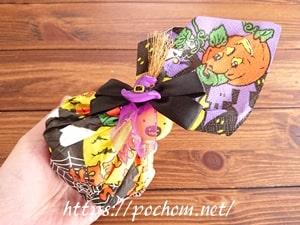 ハロウィンにも。お菓子の簡単ラッピングの仕方
