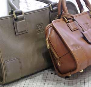 ストラップがあれば出番がまわってくる鞄たち。 ストラップ作成篇