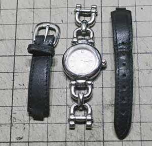 20年後の贈り物。 時計のベルト製作編。