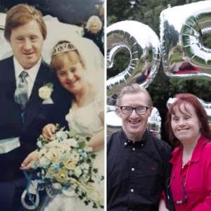 結婚しました & 結婚25周年!ダウン症のあるご夫婦、共におめでとう