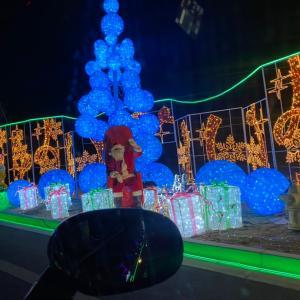 コロナ禍のクリスマスイルミネーション